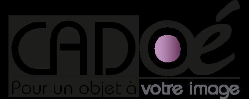 Cadoé, Pour un Objet à votre image… Logo